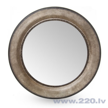 Spogulis, 82x82 cm, pelēks
