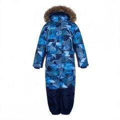 Huppa zēnu ziemas kombinezons Bruce, tumši zils, 92586