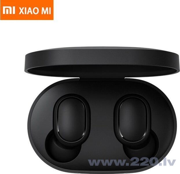 Xiaomi Mi True Wireless Earbuds Basic, AirDots , Melnas cena