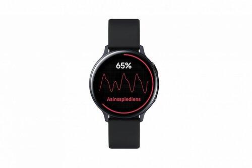 Samsung Galaxy Watch Active 2 BT, 44mm, Black Aluminium cena un informācija | Viedpulksteņi (smartwatch) | 220.lv