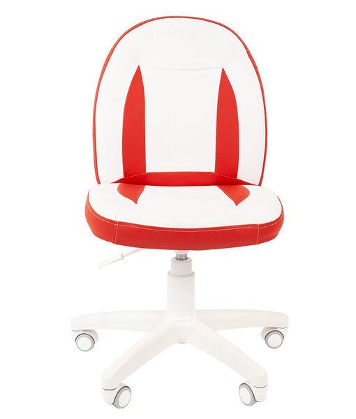 Детское кресло Chairman Kids 122, белое/красное цена