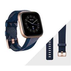 Fitbit Versa 2 (NFC), Special Edition, Navy & Pink Woven/Copper Rose Aluminium cena un informācija | Fitbit Versa 2 (NFC), Special Edition, Navy & Pink Woven/Copper Rose Aluminium | 220.lv