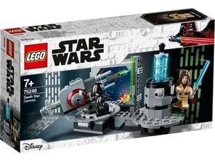 75246 LEGO® Star Wars™ Nāves zvaigznes lielgabals cena un informācija | Konstruktori | 220.lv