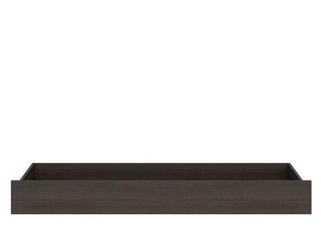 Gultas veļas kaste Nepo Plus SZU/162, tumši brūna