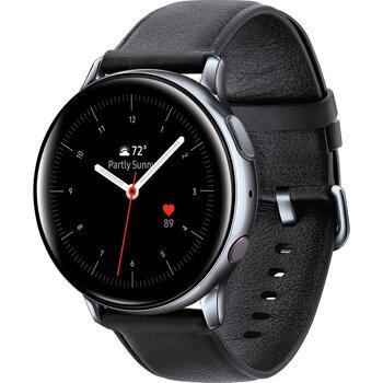 Samsung Galaxy Watch Active 2, 44mm, Sudraba/Melns(Stainless)