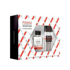 Komplekts vīriešiem Antonio Banderas Power of Seduction: tualetes ūdens EDT 100 ml + izsmidzināms dezodorants 150 ml