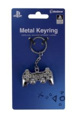 PlayStation - DualShock 3D Metal Keychain