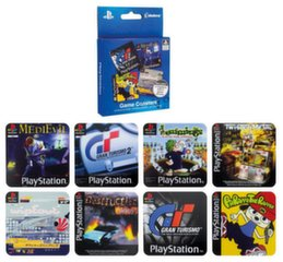 PlayStation - Game Coasters 4-Pack