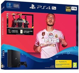 Sony Playstation 4 PRO 1TB (PS4) Black + Fifa 20