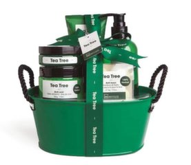 Vannas komplekts IDC Institute Tea Tree Basket