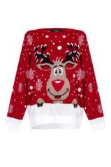 Džemperis sievietēm Reindeer Christmas Jumper, ML1963 cena un informācija | Džemperi sievietēm | 220.lv