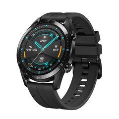 Pulkstenis Huawei GT 2, Melns cena un informācija | Pulkstenis Huawei GT 2, Melns | 220.lv