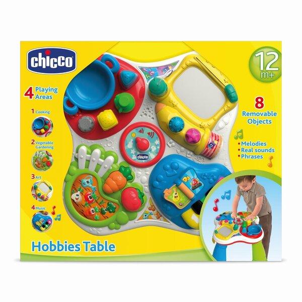 Aktivitāšu centrs - galds Chicco, 7653