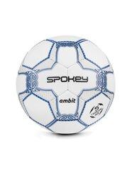 Futbola bumba Spokey Ambit, 5.izmērs balta cena un informācija | Futbola bumbas | 220.lv