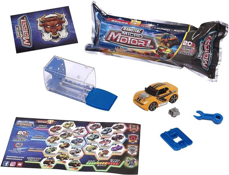 Automašīnas modeļu komplekts Teamsterz Micro Motorz 1.sērija