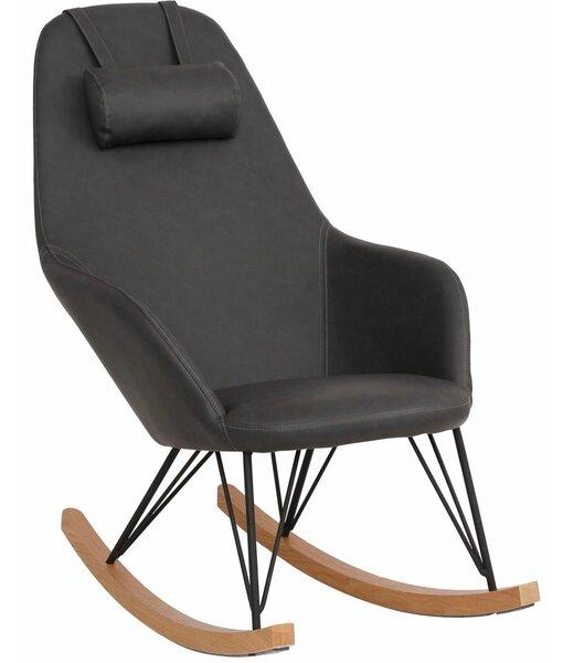 Krēsls Naomi, pelēks/melns