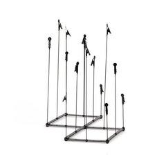 Держатель-подставка для фото Umbra Crowd, черный цена и информация | Рамки, фотоальбомы | 220.lv