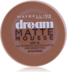 Grima pamats Maybelline Dream Matte Mousse SPF15 18 ml