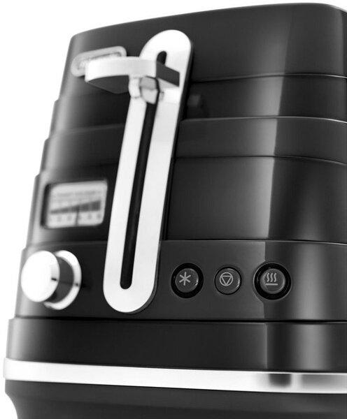 Тостер DeLonghi CTA 2103 BK отзыв