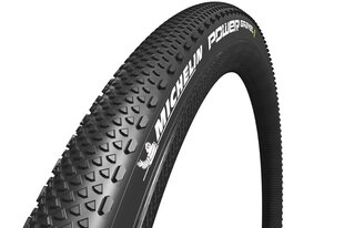 700x35 (35-622) POWER GRAVEL BLACK TLR FOLDING MICHELIN TIRE