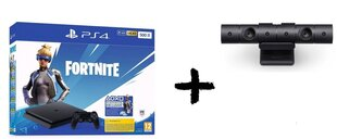Sony PlayStation 4 (PS4) Slim, 500 GB + Fortnite Neo Versa + Kamera cena un informācija | Spēļu konsoles | 220.lv