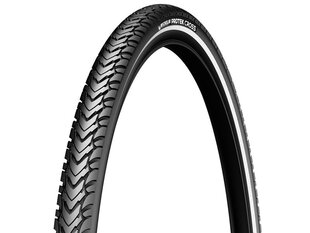 700x32 (32-622) PROTEK CROSS BLACK/REFLEX MICHELIN TIRES