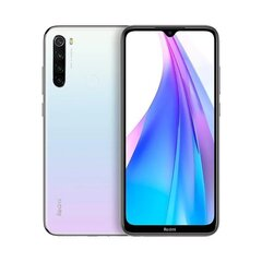 Xiaomi Redmi Note 8T 128GB, Dual SIM, Balts