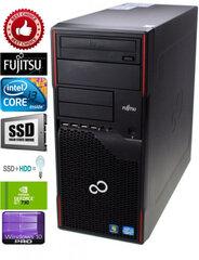 Fujitsu Esprimo P710 i3-3220 8gb 120ssd 1Tb HDD GT730 2GB Windows 10 Professional Dators