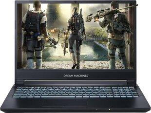 Dream Machines G1660Ti-15PL45 16 GB RAM/ 480 GB SSD/ Windows 10 Pro cena un informācija | Portatīvie datori | 220.lv