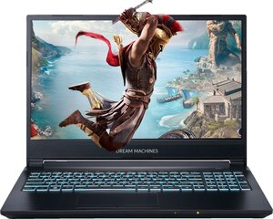 Dream Machines RG2060-15PL40 8 GB RAM/ 512 GB M.2 PCIe/ 480 GB SSD/ Windows 10 Pro
