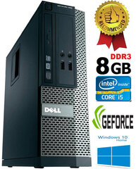Dell Optiplex 390 i5-2400 8GB 500GB GT730 2gb DVDRW Windows 10 Dators cena un informācija | Dell Optiplex 390 i5-2400 8GB 500GB GT730 2gb DVDRW Windows 10 Dators | 220.lv