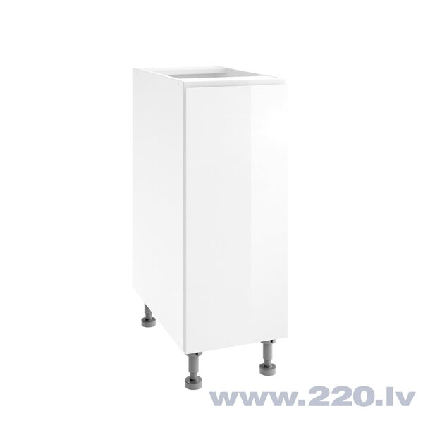 Virtuves skapītis Lupus Vegas 1D 30 cm, balts