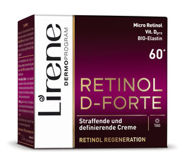 Dienas krēms ar retinolu LIRENE Retinol 60+ 50 ml cena un informācija | Dienas krēms ar retinolu LIRENE Retinol 60+ 50 ml | 220.lv