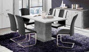 Paplašināms pusdienu galds Forte Levante EST42-C264, pelēkas krāsas cena un informācija | Virtuves un pusdienu galdi | 220.lv