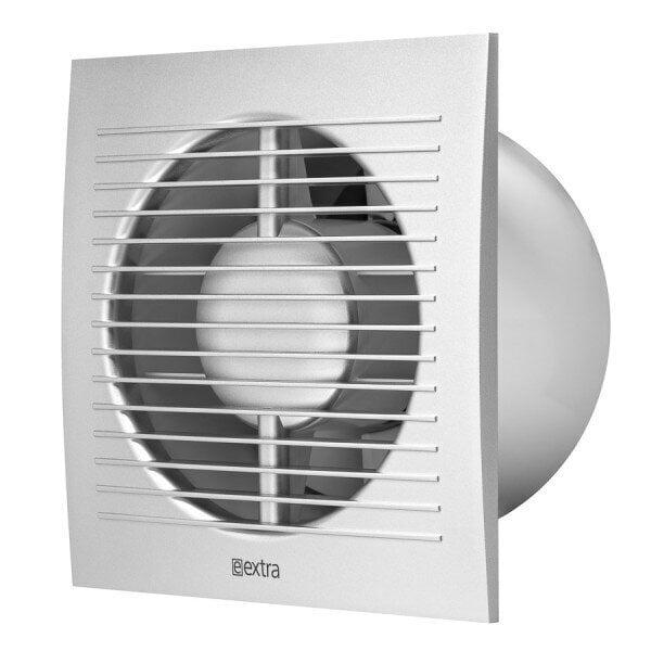 Elektriskais ventilators E-EXTRA, Ø125mm ar taimeri