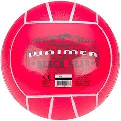 Pludmales volejbola bumba Waimea 16TA, rozā, 21 cm cena un informācija | Pludmales volejbola bumba Waimea 16TA, rozā, 21 cm | 220.lv