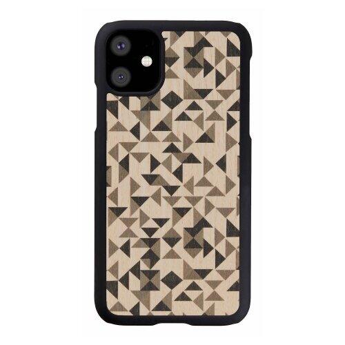 MAN&WOOD SmartPhone case iPhone 11 mono triangle black