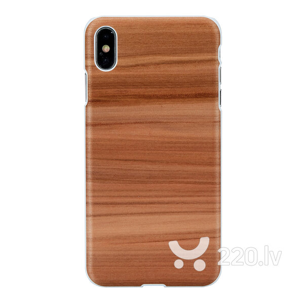 MAN&WOOD SmartPhone case iPhone XS Max cappuccino white