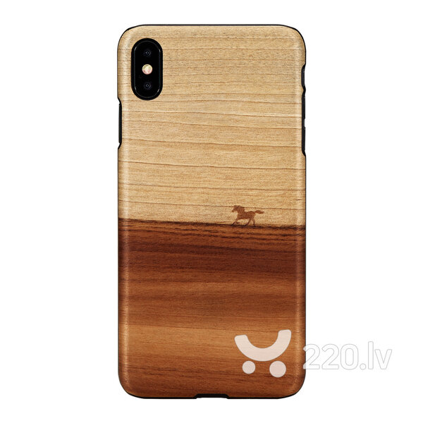 MAN&WOOD SmartPhone case iPhone XS Max mustang black