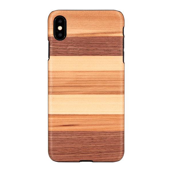 MAN&WOOD SmartPhone case iPhone XS Max sabbia black