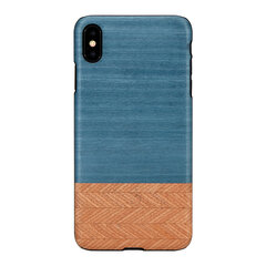 MAN&WOOD SmartPhone case iPhone X/XS denim black