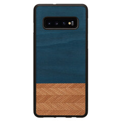 MAN&WOOD SmartPhone case Galaxy S10 Plus denim black