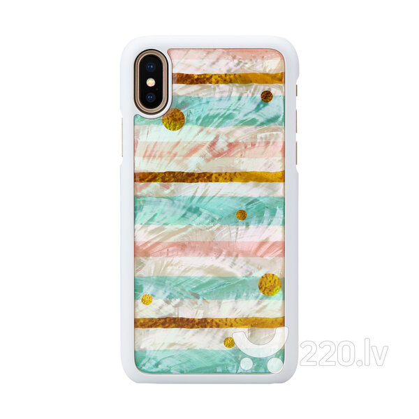 iKins SmartPhone case iPhone XS/S pop mint white