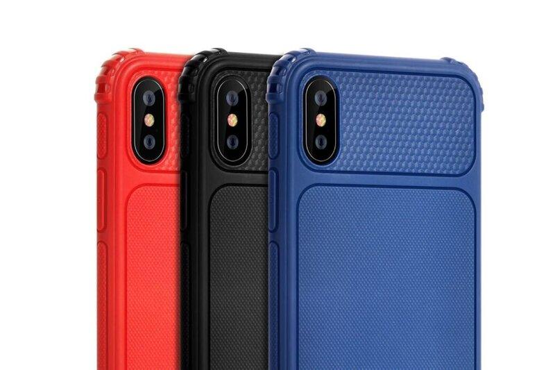 Devia Shark1 Shockproof Case iPhone XR (6.1) red internetā