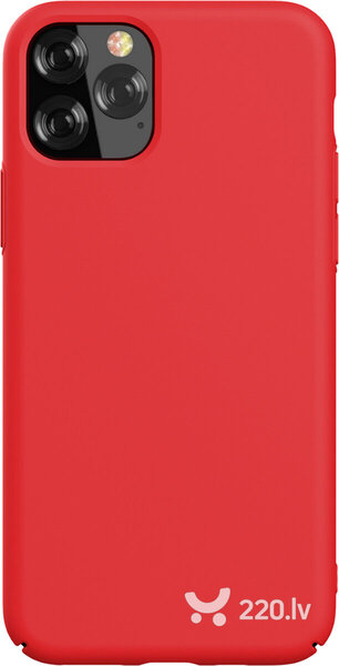 Devia Nature Series Silicone Case iPhone 11 Pro red