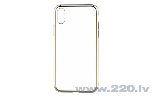 Devia Glitter soft case (TPU) iPhone XS/X(5.8) gold