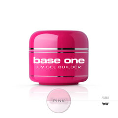 Bāzes gels nagiem Silcare Base One 5 g, Pink cena un informācija | Bāzes gels nagiem Silcare Base One 5 g, Pink | 220.lv