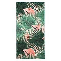 Pludmales dvielis Tropical, 80x160 cm cena un informācija | Dvieļi | 220.lv
