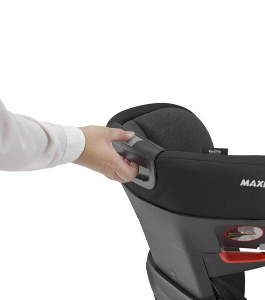 Maxi Cosi autokrēsliņš RodiFix AirProtect, 15-36 kg, Authentic black atsauksme