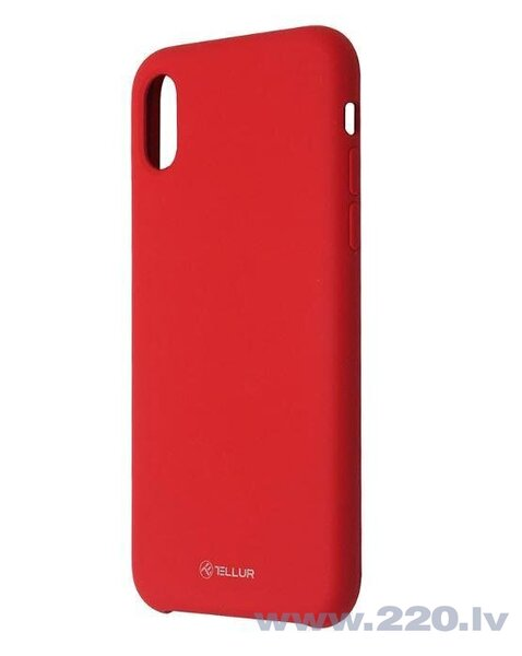 Tellur Cover Liquide Silicone for iPhone XR red cena